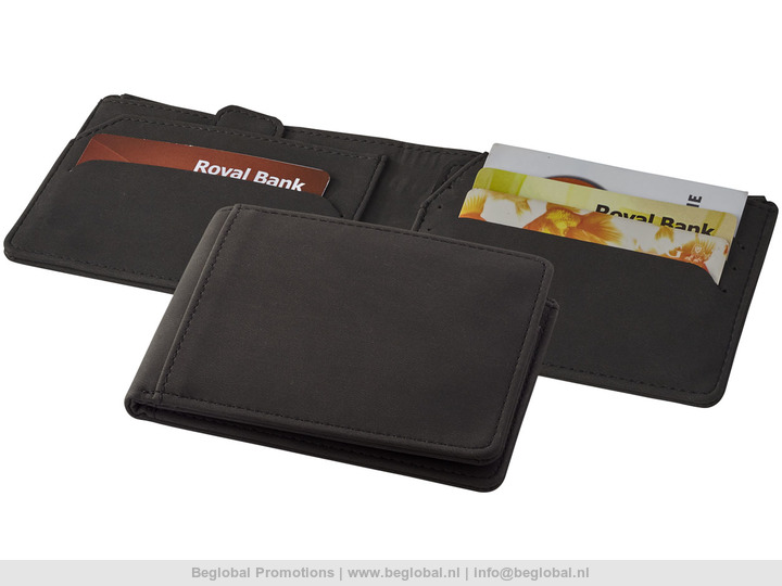 3769135ca5b Relatiegeschenk Adventurer RFID portemonnee bedrukt met uw logo.
